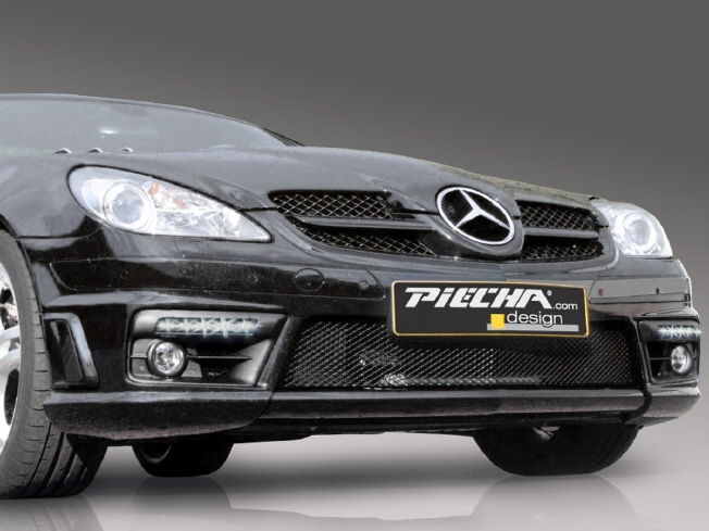 slk r171 amg facelift from 08 led daytime running light. Black Bedroom Furniture Sets. Home Design Ideas